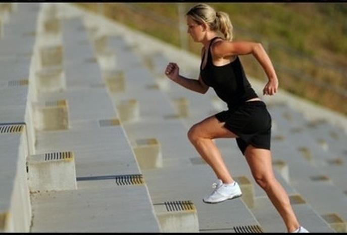 Urcatul scarilor pentru fitness